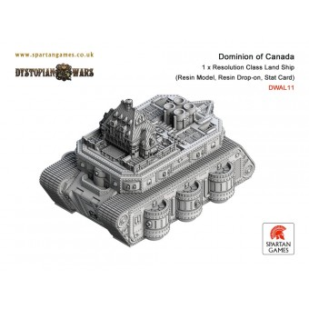 Dominion of Canada - Resolution Class Land Ship