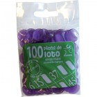 Pions 15 mm marquage Loto Violet