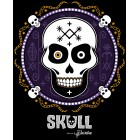 T-Shirt Skull Voodoo - Joueuse Small