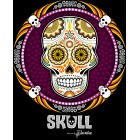 T-Shirt Skull Mexicain - Joueuse Small