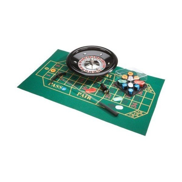 Small roulette set