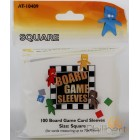 100 Board Game Sleeves 70x70mm
