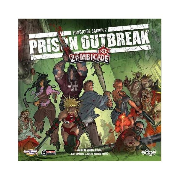 Zombicide prison outbreak boutique philibert for Porte zombicide