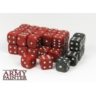 Set de 36 dés 6 - Wargaming Dice Red / Black