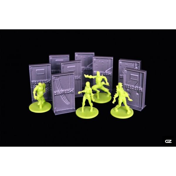 Zombicide portes 3d boutique philibert for Porte zombicide