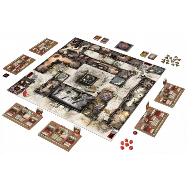 Zombicide black plague version fran aise boutique for Porte zombicide