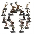 Dungeon Saga : Figurines de Morts Vivants