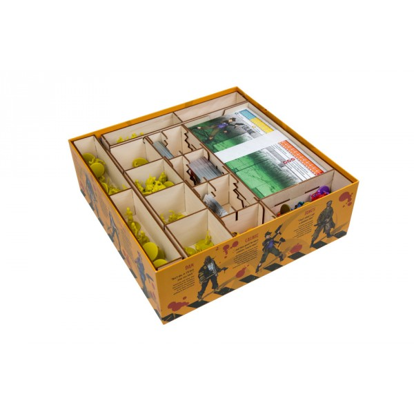 Zombicide saison 3 box organizer boutique philibert for Porte zombicide