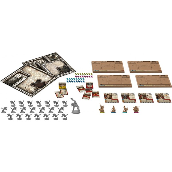 Zombicide black plague wulfsburg anglais boutique for Porte zombicide
