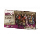 Zombicide : Black Plague - Notorious Plagued Characters n°1