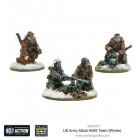 Bolt Action - US Army 50cal HMG Team (Winter)