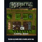 Savage Worlds : Rippers Resurrected - Map 1 Castle Dracula/Country House