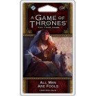 A Game of Thrones : The Card Game - All Men are Fools Chapter Pack