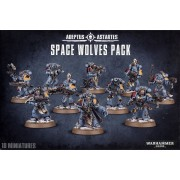 W40K : Adeptus Astartes Space Wolves - Space Wolves Pack
