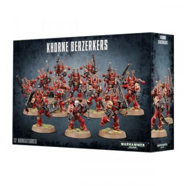 W40K : Chaos Space Marines - Khorne Berserkers