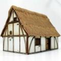 Maison 2 étages médiévale âges sombres 1
