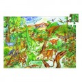 Puzzle Observation - Dinosaures + Poster + Livret - 100 pièces 0