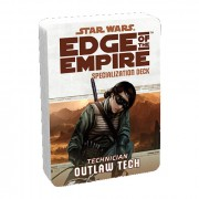Star Wars : Edge of the Empire - Outlaw Tech Specialization Deck pas cher