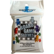 100 Board Game Sleeves 63x88mm