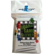 100 Board Game Sleeves 57x89mm