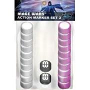 Mage Wars: Action Marker Set 2