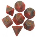 Resin Dice : 16mm Numbers Combo Attack Dice Set 3
