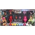 Lantern corps power batteries - rouge et violet 1