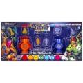Lantern corps power batteries - orange et indigo 1
