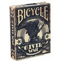 Civil War - Bleu - jeux de 54 Cartes Bicycle 0