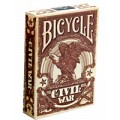Civil War - Rouge - jeux de 54 Cartes Bicycle 0