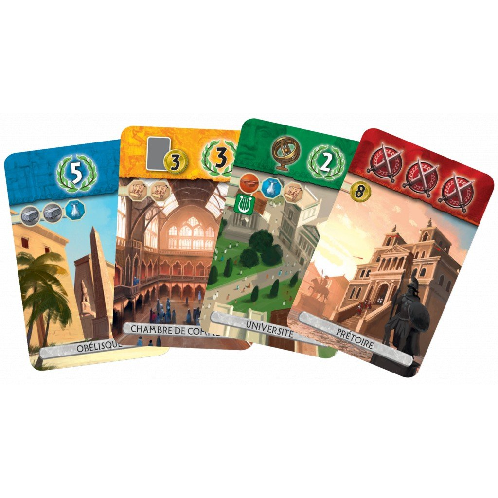 7 Wonders Duel French 4