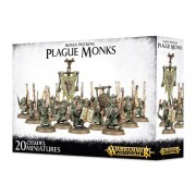 Age of Sigmar : Chaos - Skaven Pestilens Plague Monks