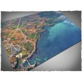 Terrain Mat Cloth - Aerial Bay - 120x180 0