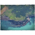 Terrain Mat Cloth - Aerial Bay - 120x180 1