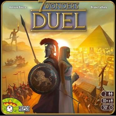 7 Wonders  Duel (Anglais)