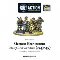Bolt Action - German - German Heer 120mm Heavy Mortar Team (1943-45) 0
