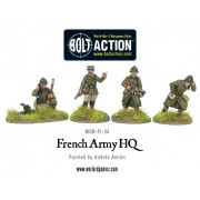 Bolt Action - French - Army HQ