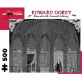 Puzzle - Dracula in Dr. Seward's Library d' Edward Gorey - 500 Pièces 0