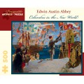 Puzzle - Columbus in the New World de Edwin Austin Abbey - 500 Pièces 0