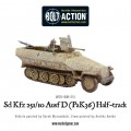 Bolt Action  - German - Sd.Kfz 251/10 ausf D (3.7mm Pak) Half Track 1