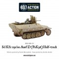 Bolt Action  - German - Sd.Kfz 251/10 ausf D (3.7mm Pak) Half Track 2