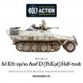 Bolt Action  - German - Sd.Kfz 251/10 ausf D (3.7mm Pak) Half Track 3