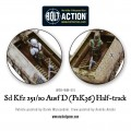 Bolt Action  - German - Sd.Kfz 251/10 ausf D (3.7mm Pak) Half Track 4
