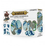 Citadel : Socles - Shattered Dominion 60 & 90mm Oval Bases