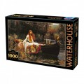 Puzzle - The Lady of Shalott de John William Waterhouse - 1000 Pièces 0