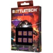 Dice Set D6 - Battletech House : Marik