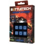 Dice Set D6 - Battletech House : Steiner
