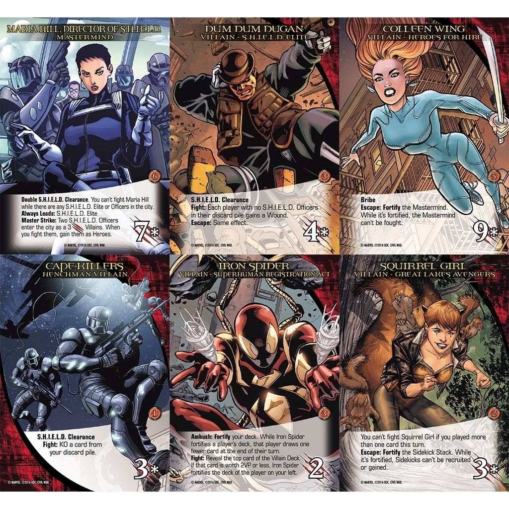Buy Legendary: Marvel Deck Building - Civil Wars Expansion - Board