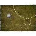 Terrain Mat Cloth - Fantasy Medieval Football Mat - Muddy Fields - 90x90 2