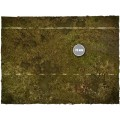 Terrain Mat Cloth - Fantasy Medieval Football Mat - Muddy Fields - 90x90 3